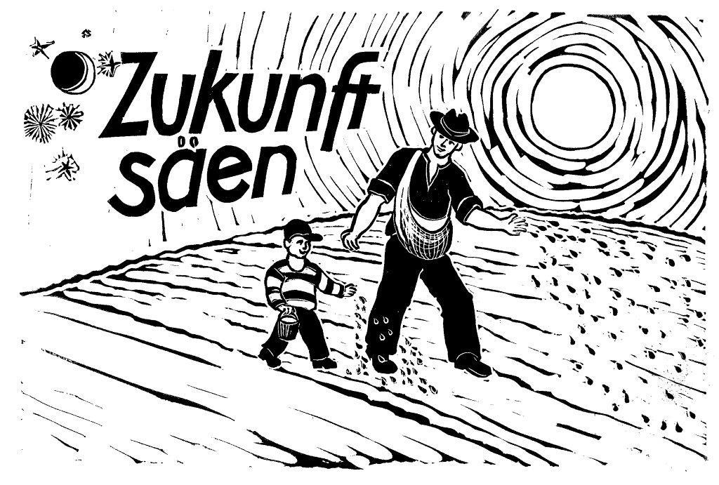 """""""Zukunft säen"""" im 11. Jahr im Erdmannhäuser Ried"""