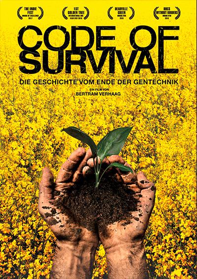 """Filmvorführung """"Code of survival"""" - Die Geschichte vom Ende der Gentechnik"""
