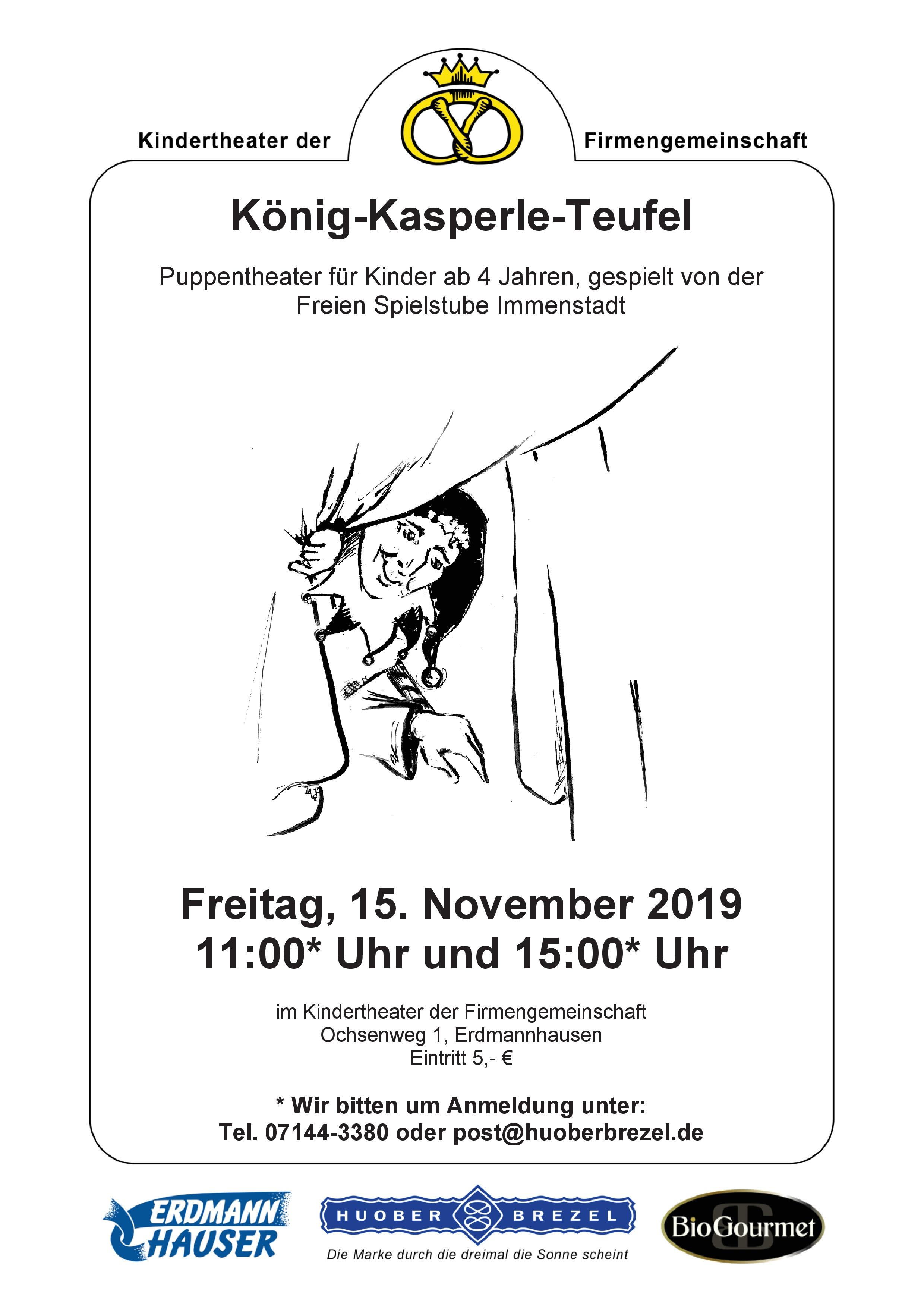 "Kindertheater ""König-Kasperle-Teufel"""