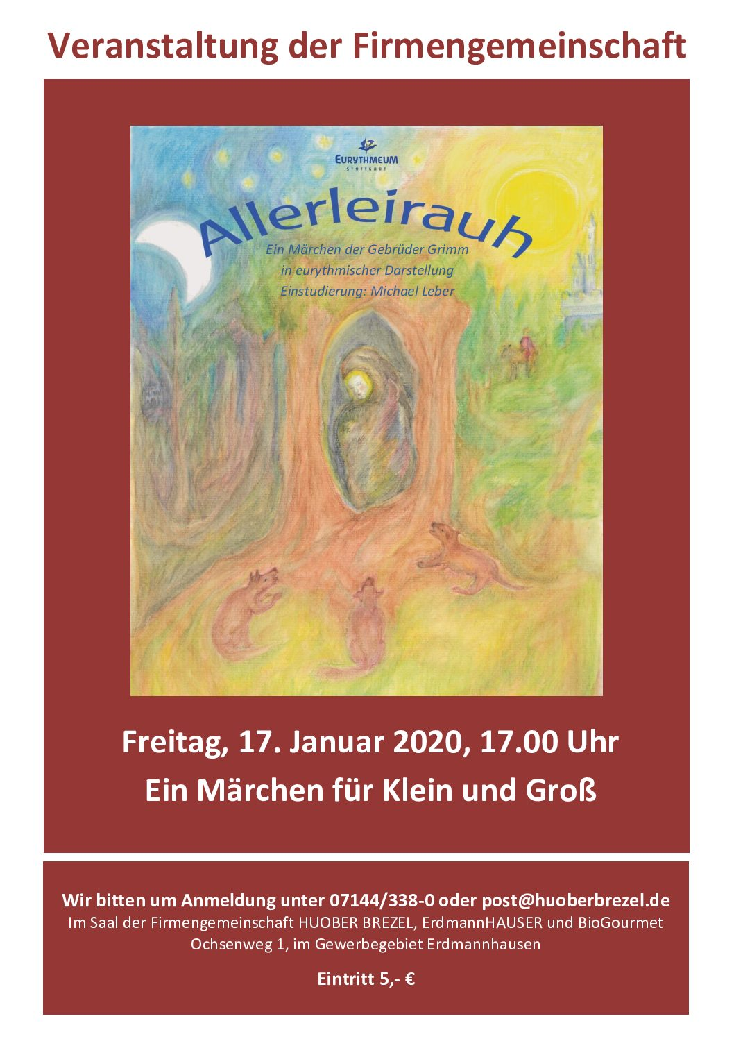 Allerleirauh - ein Märchen für Groß & Klein
